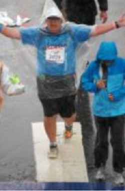 la marathon finish 2 Flapsblog.com Readers: Please Support @Flap – Gregory Flap Cole in the Los Angeles Marathon