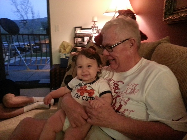 Grandpa and James