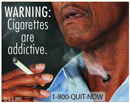 Cigarette Warning Graphic