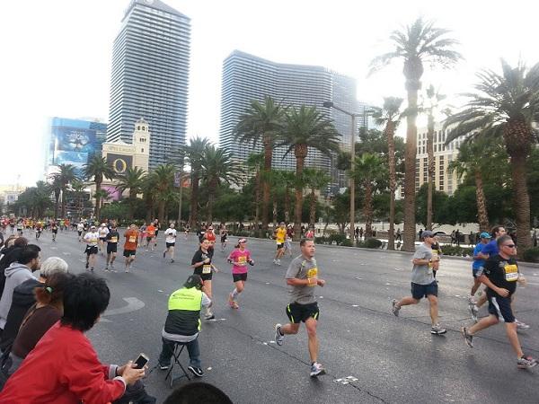 Runners at 2012 Las Vegas Marathon