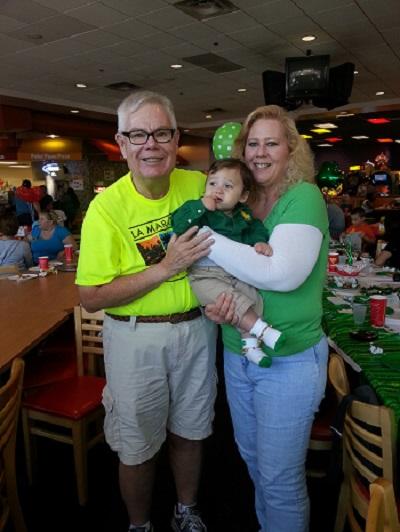 Alice James and Grandpa Greg