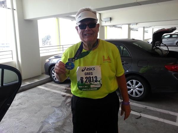 I finished the LA Marathon