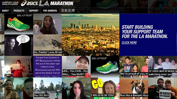 Support Your Marathoner